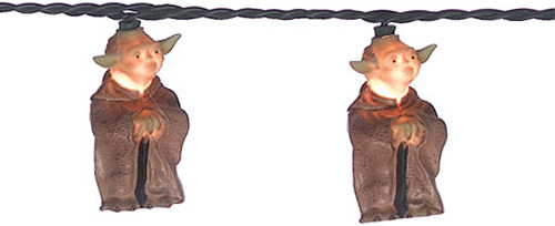 Yoda Christmas Lights (Image courtesy What on Earth)