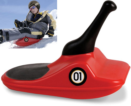 The Bavarian Zipfel Bobsled (Images courtesy Hammacher Schlemmer)