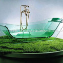 Indestructible Glass Bathtub Is Indestructible