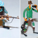 Make Your Own Cat 5 Cable Action Figures