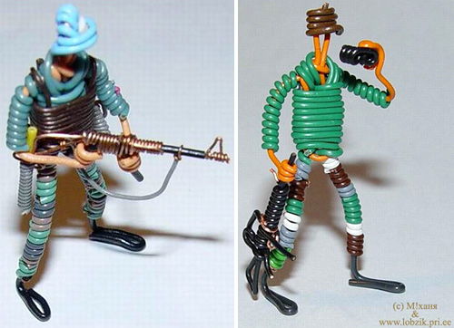 Ethernet Cable Soldier (Images courtesy Fresh99)