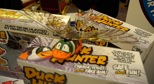 Interactive Toy Concepts Duck Hunter (Image property OhGizmo!)