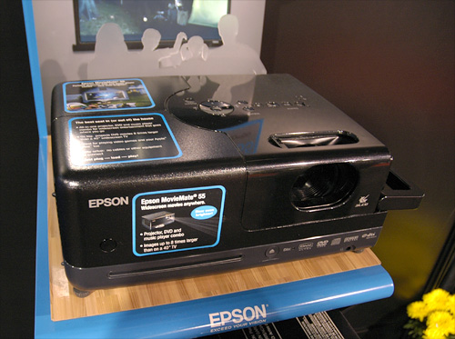 Epson MovieMate 55 (Image property of OhGizmo!)
