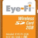 [CES 2009] Eye-Fi Cards Now With Wireless Video Upload