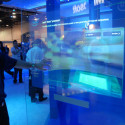 [CES 2009] Intel 3D Touchscreen Is Skinny, Smooth, Nearly Invisible