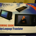 [CES 2009] Krown Sign Language Translator