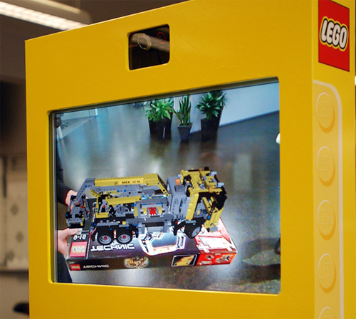 LEGO's Digital Box (Image courtesy NOTCOT)