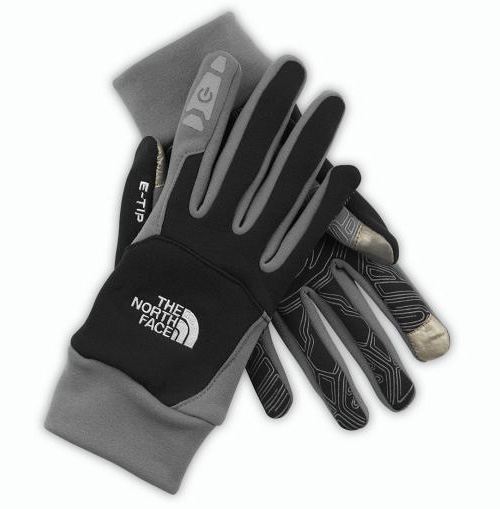 The North Face ETip Gloves (Image courtesy The North Face)