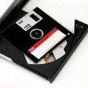 CD-R Fashioned To Look Like Obsolete Floppy Disk