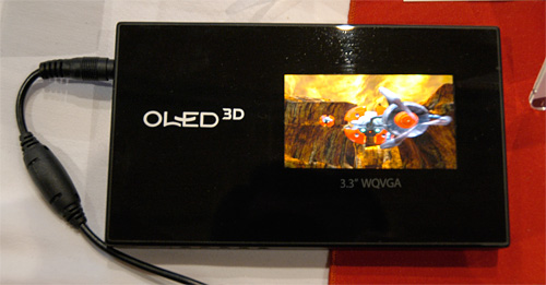 OLED 3D (Image property of OhGizmo!)