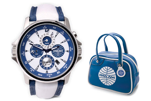 Pan Am Departure Dual-Time Watch (Image courtesy Wireless Catalog)