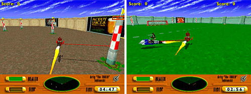 Rocket Jockey (PC) (Images courtesy GameSpot)