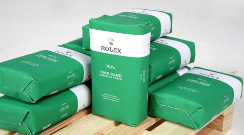 Rolex Timesand (Image courtesy 1/6 (artmarcovici)