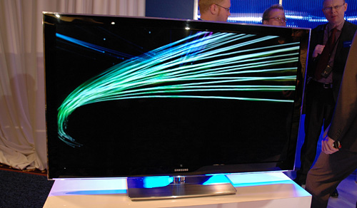 Samsung LCD TV (Image property OhGizmo!)