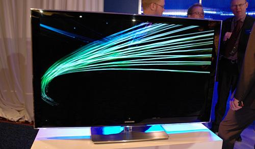 Samsung LCD TV (Image property OhGizmo!)