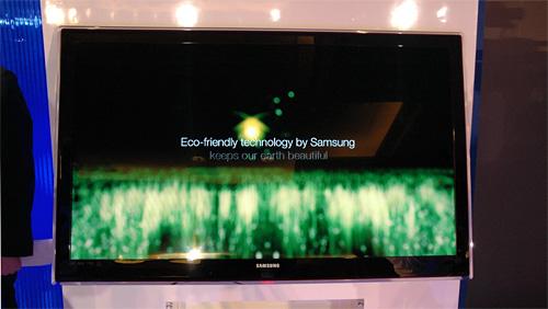 Samsung Eco-Friendly LEDs (Image property OhGizmo!)