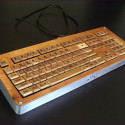 Master Wordsmith Crafts A Scrabble Keyboard