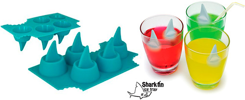 Shark Fin Ice Tray (Image courtesy Play.com)