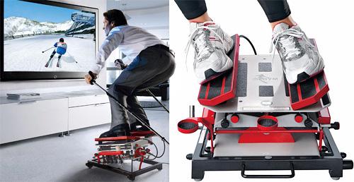 SKIGYM Ski Simulator (Images courtesy Pro-Idee)