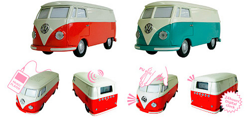 Dreams VolksWagen Type 2 Radio (Image courtesy AudioCubes)