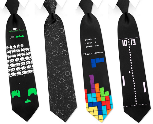 Game Ties (Images courtesy Technabob)