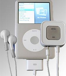 Accenda Voice Control For iPod (Image courtesy Accenda)