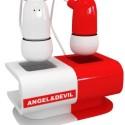 Angel – Devil Earphones Play Music Both Good And Eeeeevil