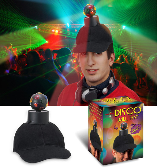 Disco Ball Hat (Images courtesy UrbanTrend)