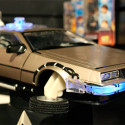 Diamond Select's 1:18 Scale BTTF Delorean Features Lights & Sounds