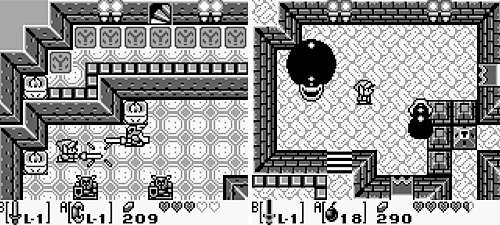 The Legend Of Zelda: Link's Awakening (Game Boy) (Images courtesy MobyGames)