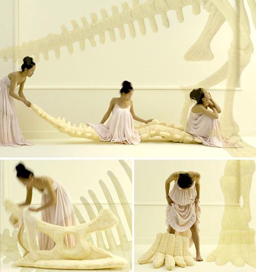 Living With Dinosaurs (Images courtesy Sayaka Yamamoto)