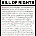 Maker's Bill Of Rights
