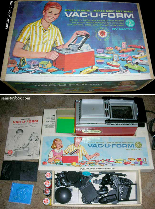 Mattel Vac-U-Form (Images courtesy Sam's Toybox)