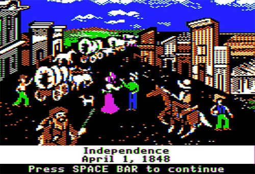 Oregon Trail (Image courtesy MAKE: Blog)