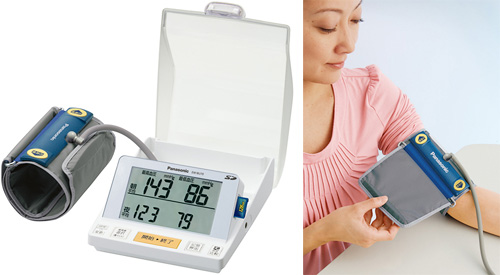 Panasonic EW-BU70 Personal Blood Pressure Monitor (Images courtesy Panasonic)
