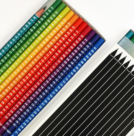Pencil Calendar 2009 (Image courtesy Mytton Williams Design)