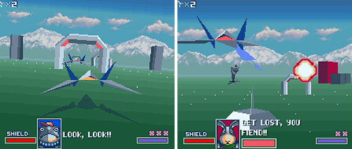Star Fox (SNES) (Images courtesy MobyGames & Uzziah.org)