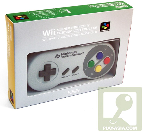 Super Famicom Classic Controller [Club Nintendo Limited Edition] (Image courtesy Play-Asia)