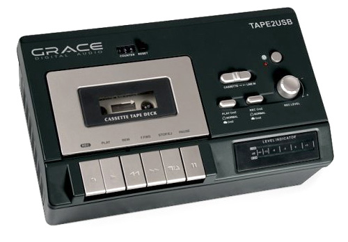 Grace Tape2USB (Image courtesy Grace Digital Audio)