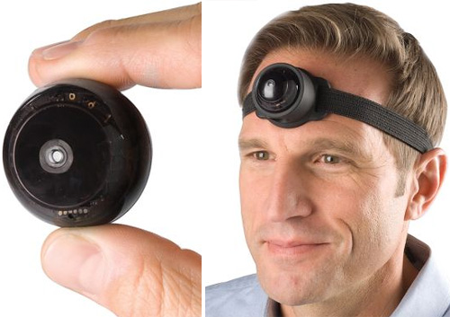 The Third Eye Video Camera (Images courtesy Hammacher Schlemmer)