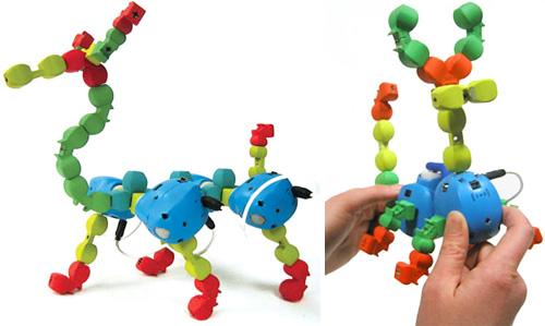 Topobo System (Images courtesy Topobo.com)