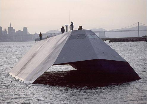 The DARPA Thread Uss-sea-shadow