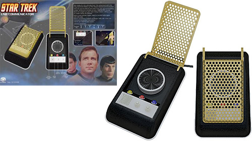 Star Trek VoIP/Skype Communicator (Images courtesy Everything USB)