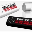 Count Down To Relaxation With The Weekend Clock