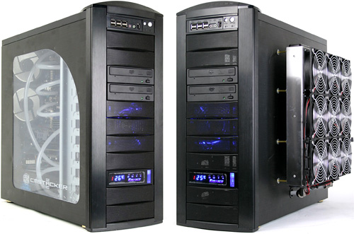 Puget Systems $16,000 Gaming PC (Images courtesy Tom's Hardware)