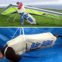 Airbike Provides A Pedal-Powered Boost For Hang Gliders
