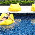 Floating Beanbag Means Comfortable Seating On Land Or Water