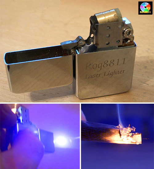 Blu-ray Zippo - It can be done (Images courtesy ROG8811)