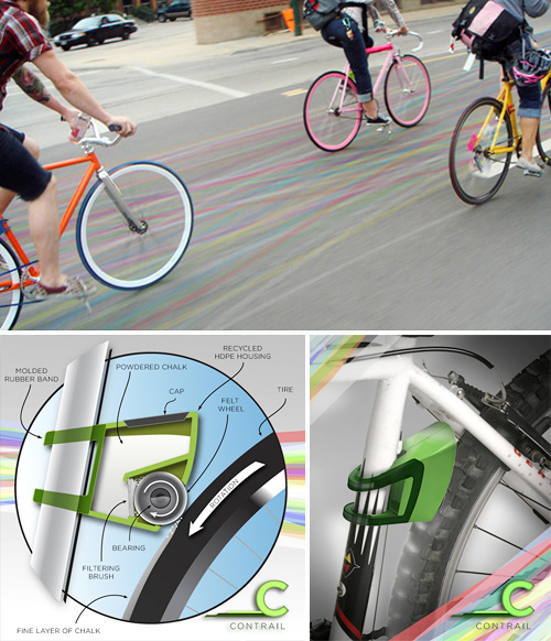 Contrail - Biking Community Tool (Images courtesy Studio Gelardi)