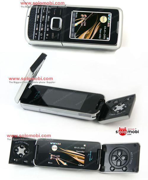 Cool8800C Flip-Phone (Images courtesy Solomobi)
